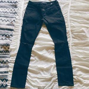Lucky Brand Lolita Skinny Black Destructed Jeans